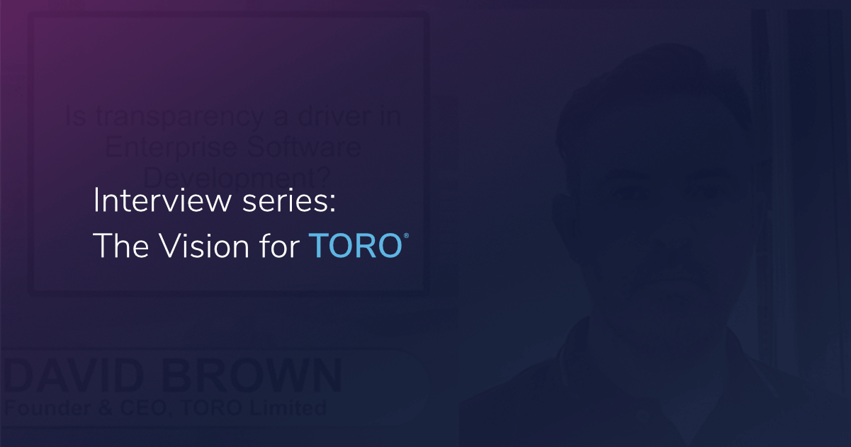 Interview Series: The Vision for TORO
